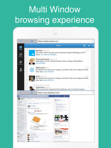 Split- Multi Window Browsing Experience screenshot 5