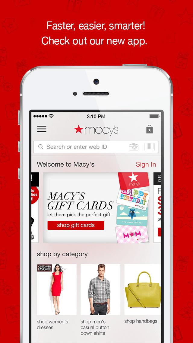 Macy's screenshot 1