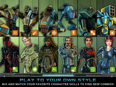 Nitropia - War Commanders screenshot #4