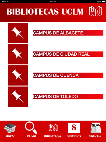 Biblioteca UCLM Universidad de Castilla La Mancha screenshot 10