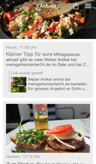 BBQlicate.de screenshot 1