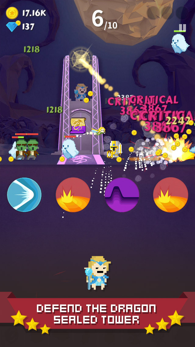 Tap Quest : Gate Keeper screenshot 2