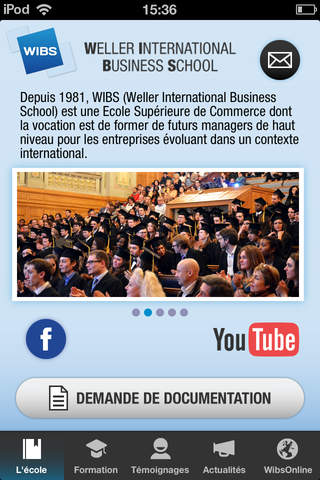 Weller International Business School - náhled