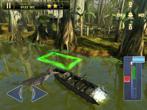 3D Swamp Parking - Real Speed Boat Simulator Driving & Racing Games screenshot 10