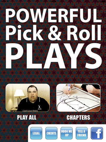 Powerful Pick & Roll Plays - With Coach Lason Perkins - Full Court Basketball Toolbox 13 Training Instruction XL screenshot 2