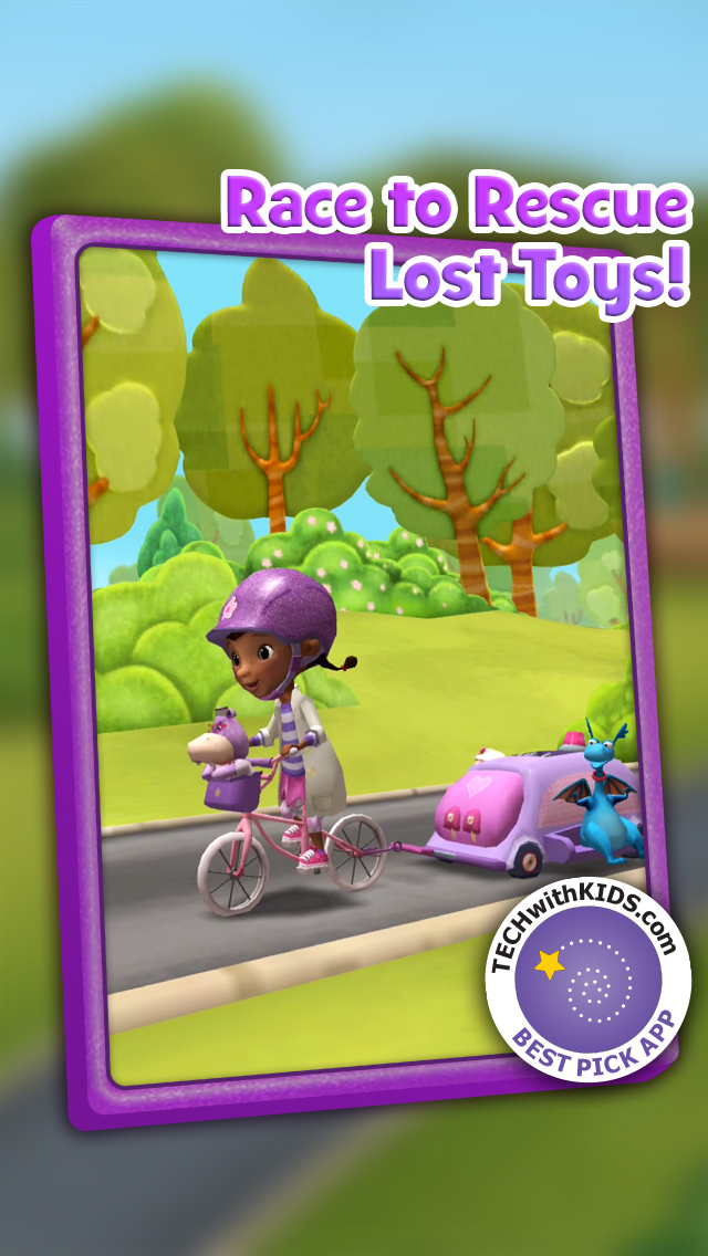 Doc McStuffins: Mobile Clinic Rescue screenshot 1