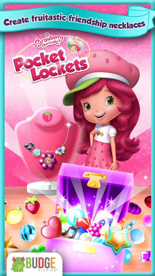 Strawberry Shortcake Pocket Lockets - Jewelry Maker screenshot #1