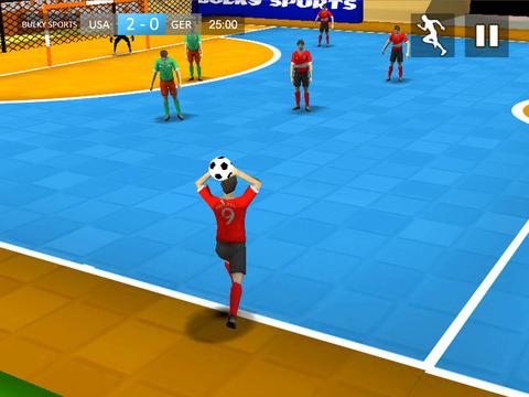Indoor Soccer 19: Futsal Cup screenshot 9