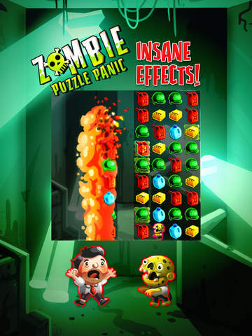 Zombie Puzzle Panic screenshot #2