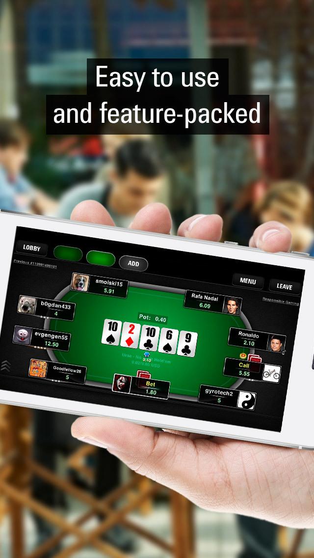 PokerStars Play Money Poker screenshot 2