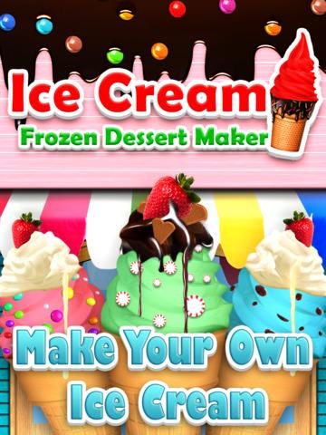 `Awesome Ice Cream Maker - Frozen Food Dessert  Free screenshot 6