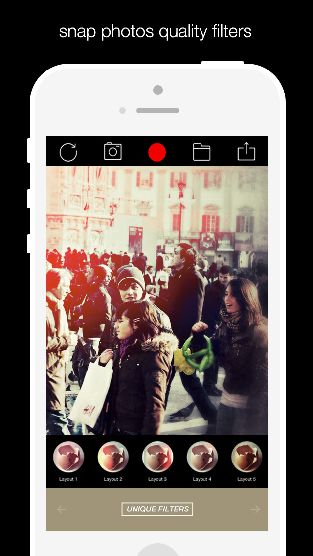 Alive Shot 360 - camera effects plus photo editor screenshot 4