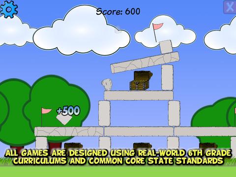 Sixth Grade Learning Games screenshot 10