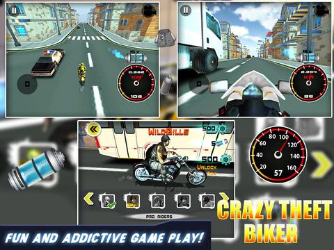 Crazy Theft Biker screenshot 4