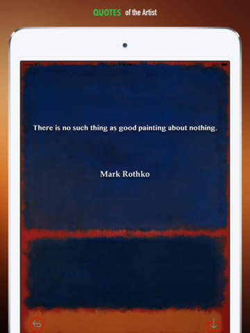 Mark Rothko Paintings HD Wallpaper and His Inspirational Quotes Backgrounds Creator screenshot 9