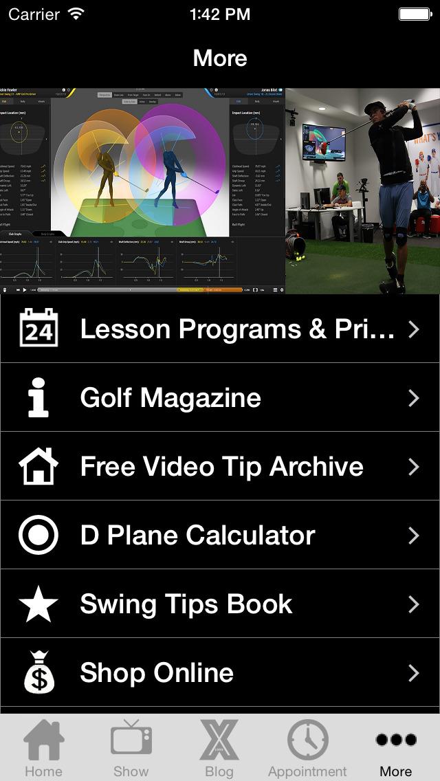 Michael Jacobs X Golf School screenshot 2