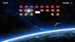 Classic Invaders: arcade retro space shooting game screenshot 2