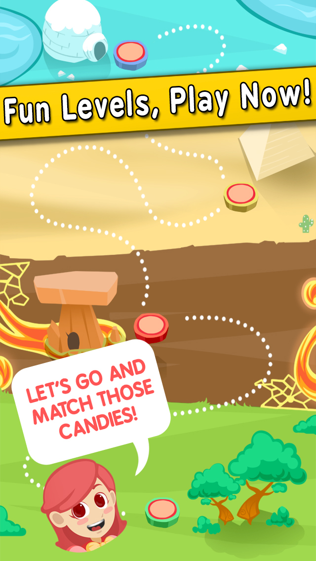 Awesome Candy Pop - The Connect Match 3 Puzzle screenshot 2
