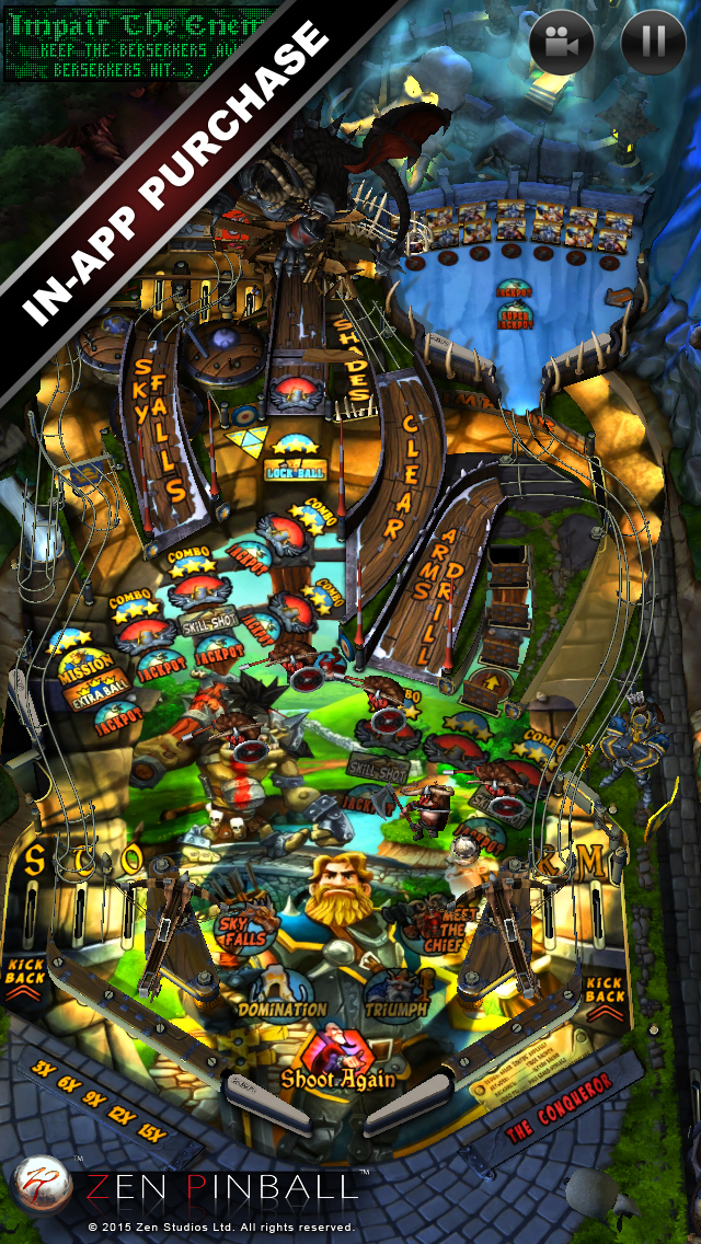 Zen Pinball screenshot 3