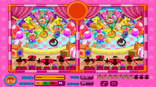 Spot The Differences Circus screenshot 5