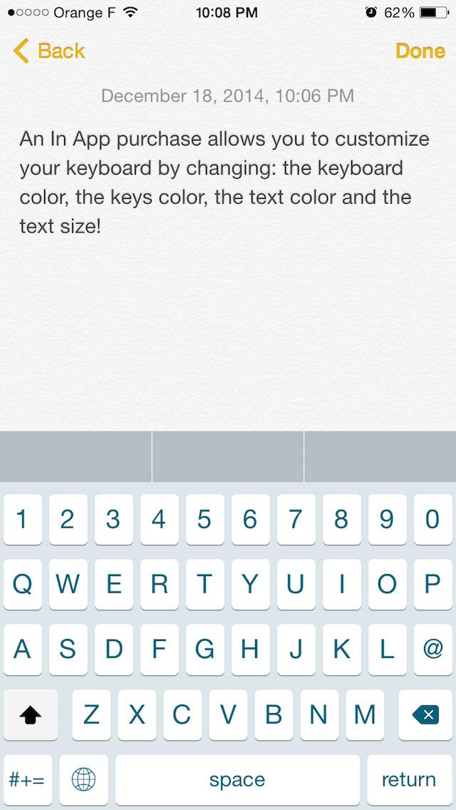 MaxiKees - Big Keyboard with More Keys screenshot 5