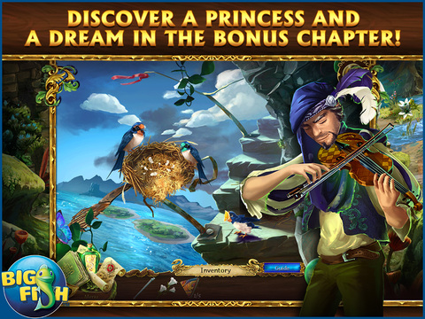 Grim Legends 2: Song of the Dark Swan HD - A Magical Hidden Object Game screenshot 4