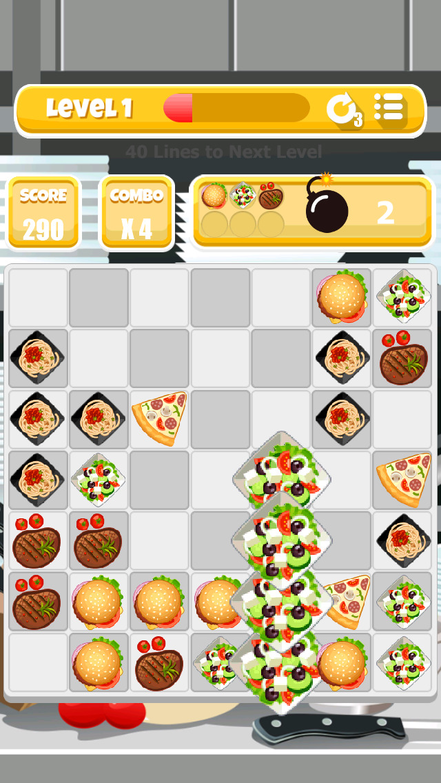 Awesome Chef! - The Food Matching Game screenshot 1