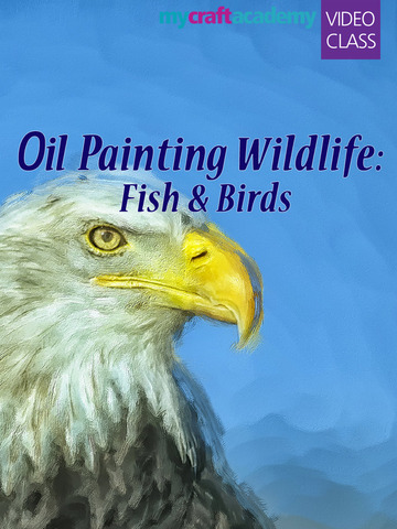 Oil Painting Wildlife: Fish & Birds screenshot 6