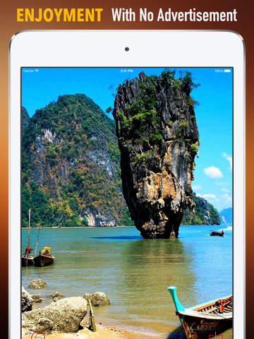 Khao Phing Kan Island Wallpapers HD: Quotes Backgrounds with Art Pictures screenshot 7