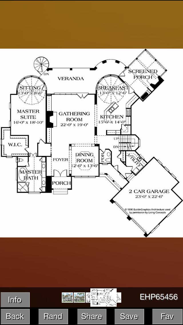 European House Plans screenshot 2