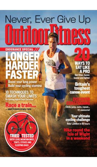 Outdoor Fitness Mag screenshot 1