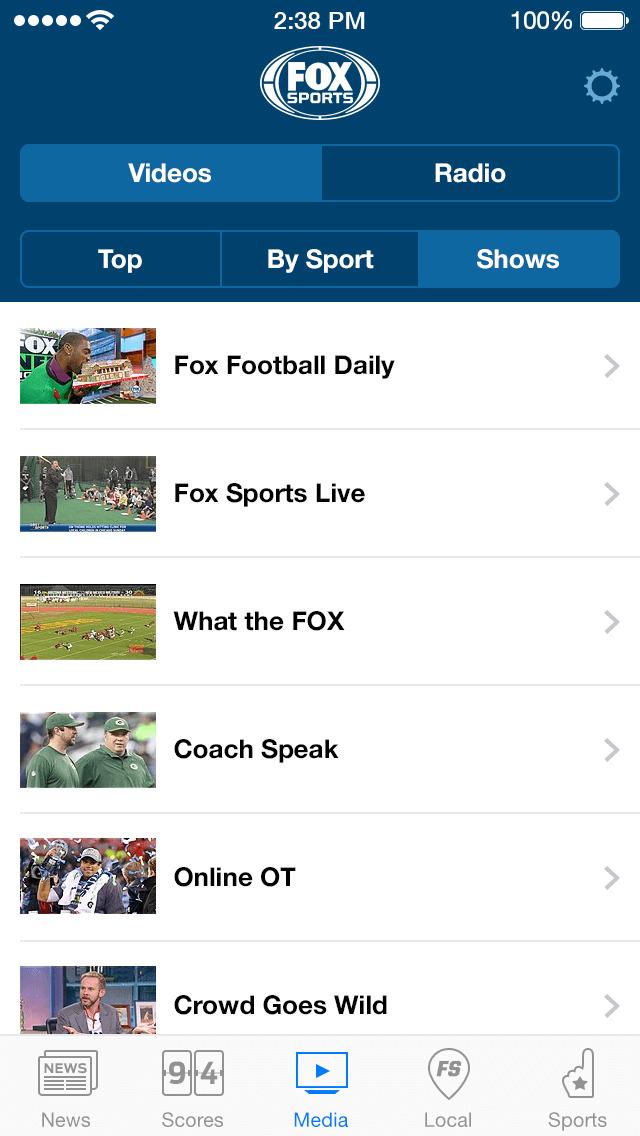 FOX Sports: Watch Live screenshot 4
