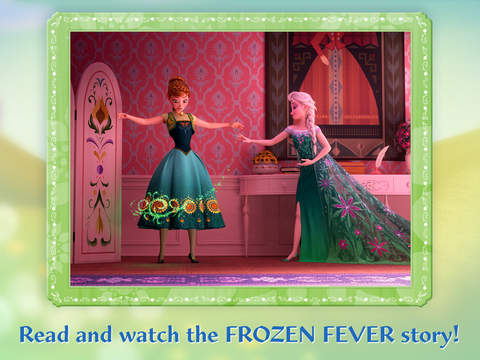 Frozen: Storybook Deluxe - Now with Frozen Fever! screenshot 7