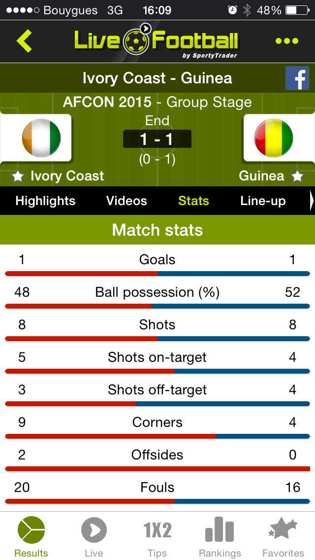 Live Soccer Scores -Skores screenshot 3