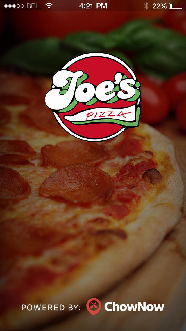 Joe's Pizza - Higgins screenshot 1