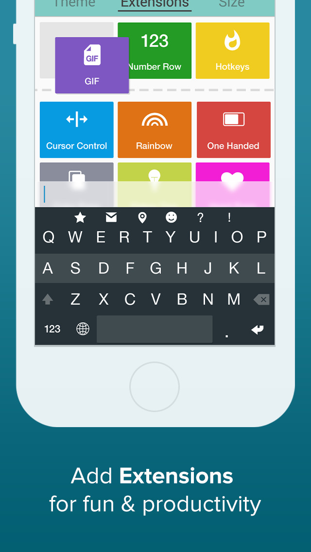 Fleksy- GIF, Web & Yelp Search screenshot #3