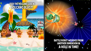 Pocket God: Journey To Uranus screenshot 5
