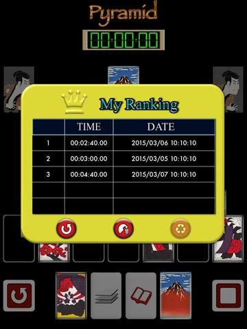 Pyramid of Japanese playing cards PVN screenshot 9