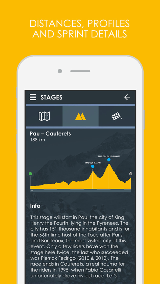 Cycling App - Tour de France 2016 edition Pro screenshot 3
