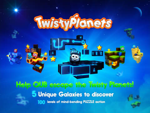 Twisty Planets Free screenshot 6