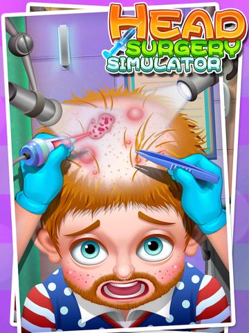 Head Surgery Simulator - Surgeon Games screenshot 5