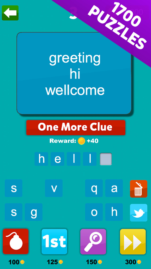 4 Clues - Find The Word Based On 4 Hints screenshot 3