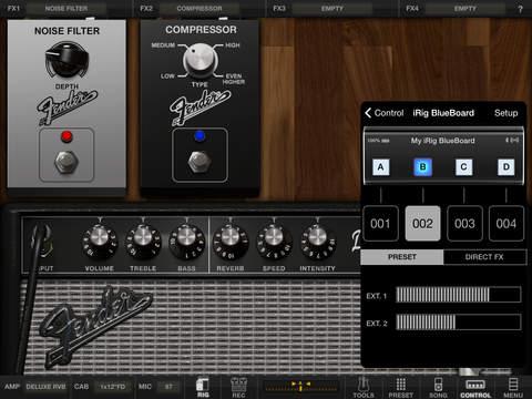 AmpliTube Fender™ FREE for iPad screenshot 5