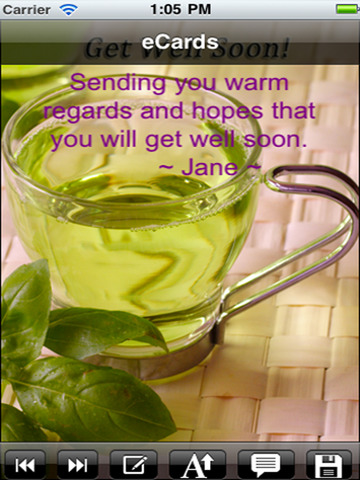 Get Well Cards with photo editor. Send get well soon greetings card and custom get well ecards with text and voice messages ! screenshot 9
