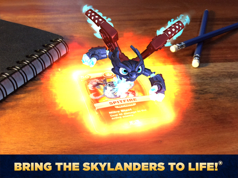 Skylanders Battlecast Cards to Life screenshot 5