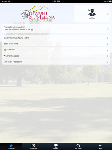 Mount St. Helena Golf Course screenshot 7