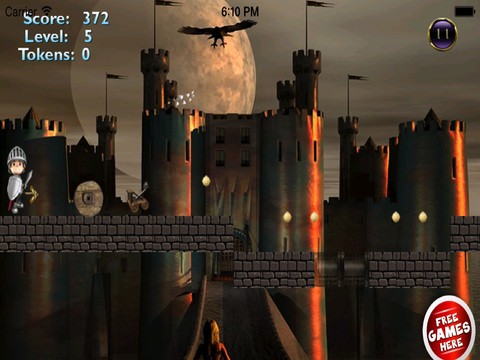 Red Ball Medieval Bouncing PRO : Avoid Spikes screenshot 7
