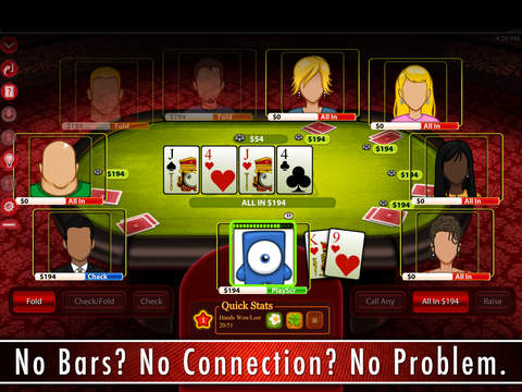 Billionaire Poker HD - Play Texas Hold'em with Friends or Offline. Become a Star. screenshot 4