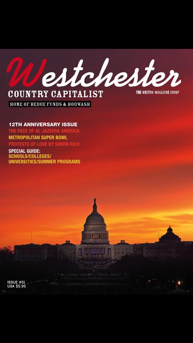 Westchester Country Capitalist Magazine screenshot 1