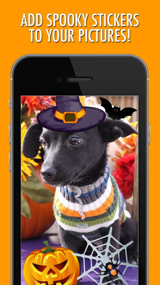 Halloween Picture Stickers: The Scary Photo Maker screenshot 2